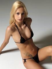 Erica F Black Bikini