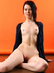 Good looking baroness with sizable boobs is here to show her wonderful body